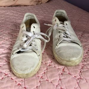 RAG and Bone White leather sneakers size 7